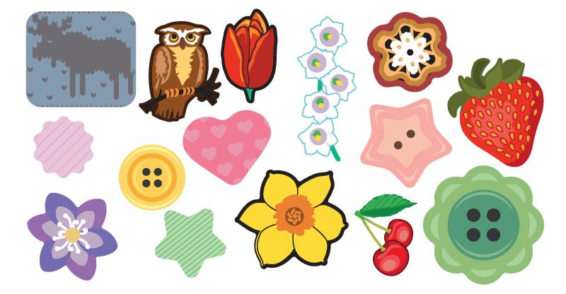 Reflekser: Blomster